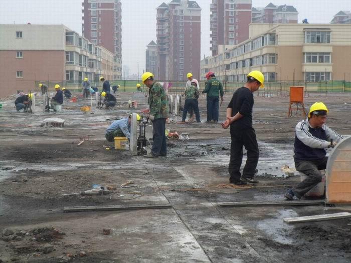 郑州电厂烟道改造切割拆除|绳锯切割拆除-设备优势