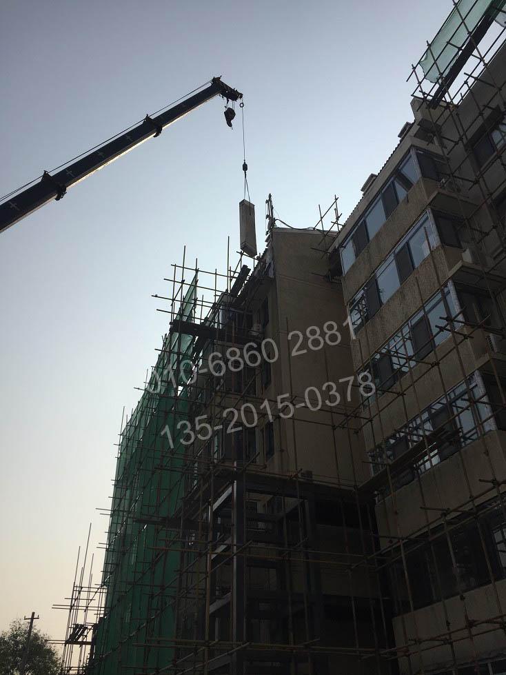 郑州绳锯切割拆除-临时防护与切割拆除同步进行